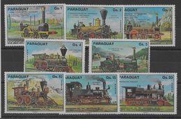2 Series De Paraguay Nº Yvert 1467/71 Y A-720/22 Nuevo - Paraguay