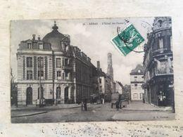 62 - CPA Animée ARRAS - L'Hôtel Des Postes (BD -36) - Arras
