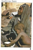 BURKINA FASO - MARKOYE - Femme Bella à L'enfant Se Reposant Après Une Longue Route.............. - Burkina Faso