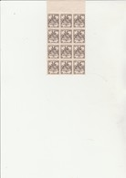 TIMBRES N° 735 ARMOIRIES STRASBOURG BLOC DE 12 NEUF  XX -ANNEE 1945 - 1941-66 Armoiries Et Blasons
