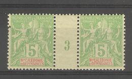 Nouvelle- Calédonie _ Millésimes (1903) 5c Groupe N°53 (voir Mes Autres Millésimes ) - Nouvelle-Calédonie