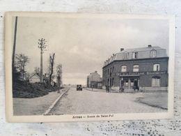 62 - CPA Animée ARRAS -Route De Saint-Pol (Coppens) - Arras