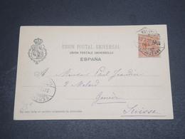 ESPAGNE - Oblitération De Granada Sur Carte Postale Pour La Suisse En 1900 - L 12556 - 1889-1931 Kingdom: Alphonse XIII
