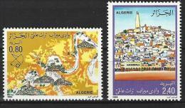 "Algerie YT 826 & 827 "" La Vallée Du M'zab "" 1984 Neuf** - Algerien (1962-...)"