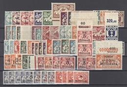 Danzig Mi.Nr. 112-180 Aus 1923 Bis Auf Einen Billigen Wert Komplett ** (20425) - Danzig