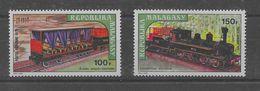 Serie De Madagascar Nº Yvert A-127/28 Nuevo - Madagascar (1960-...)