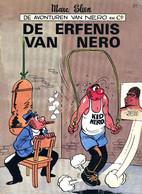 Nero - De Erfenis Van Nero (1ste Druk Met Nieuwe Cover)  1982 - Nero