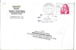 Spain Airmail Cover 2008 King Juan Carlos I  0.78 €  Slogan Cancellation, - Airmail