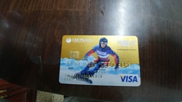 Rusia-credict Card-(508)-(6893-055)-used Card+1 Card Prepiad Free - Geldkarten (Ablauf Min. 10 Jahre)