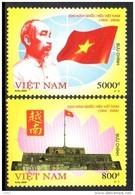 Vietnam 2156/57 Hô Chi Minh , Drapeau , Communisme , Citadelle - Non Classificati
