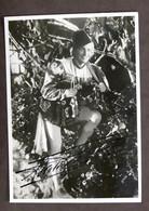 Cinema Storia - Fotografia Con Autografo Dell'attore Osvaldo Valenti - 1940 RARO - Autografi