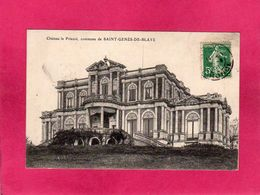 33 Gironde, Château Le Prieuré, Saint Genès De Blaye, Grand Vin De Bordeaux, 1908, (Dande) - France