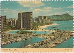 Waikiki Beach, Hawaii, Island Of Oahu, Unused Postcard [20812] - Oahu