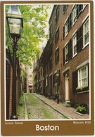 Acorn Street, Beacon Hill, Boston, Unused Postcard [20814] - Boston