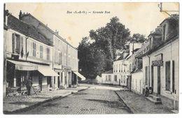 Cpa: 78 BUC (ar. Versailles) Grande Rue (Postes, Café Tabac) - Buc