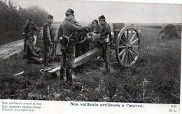 Cpa --nos Vaillants Artilleurs A L'oeuvre (nos Artilleurs Avant Le Feu.) - Weltkrieg 1914-18
