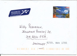 Spain Cover Sent To Denmark 2016 Single Franked - 2011-... Covers