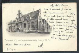 +++ CPA - MALINES - MECHELEN - Palais De Justice - 1900  // - Malines