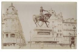 45 LOIRET - ORLEANS Carte Photo Place Du Martroi - Orleans
