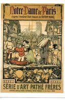"""CINEMA -  CP: Affiche Du Film  """"Notre Dame De Paris"""", Film D'Albert Capellani (1911) - Cinéma"""