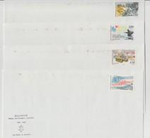 France : 4 Enveloppes Au Souvenir Du 50 ème Anniversaire De La Libération 1944 - 1994 - France