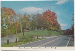 Bean Blossom Overlook, Scenic Brown County, Indiana, Unused Postcard [20821] - United States