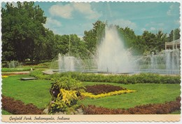 Garfield Park, Indianapolis, Indiana, Postcard [20822] - Indianapolis