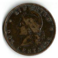 Pièce De Monnaie  2 Centavos 1889 - Argentina