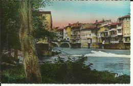 CASTRES -- Vieilles Maisons Sur L'Agout -- 1952 -- - Castres
