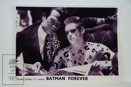 1995 Original Cinema Press Photo - Batman Forever - Tommy Lee Jones, Jim Carrey - Fotos
