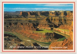 DEAD HORSE POINT STATE PARK, Southeastern Utah, Unused Postcard [20824] - United States