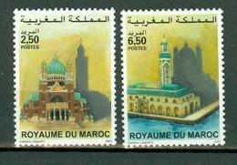 Maroc 2001 - Yv. 1282/83**, Emission Commune Avec La Belgique - Maroc (1956-...)