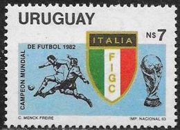 Uruguay: Italia Campione Del Mondo, Italie Champion Du Monde, Italy World Champion - 1982 – Spain