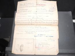 MILITARIA - Document Du Centre Payeur De Démobilisation En 1940 De La Bastide De Serou - L 12593 - Documents