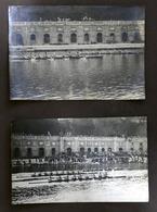 Lotto 2 Fotografie D'epoca Sport - Manifestazione Canottaggio Torino - Anni '30 - Fotografia