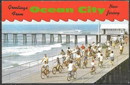 New Jersey, Greeting From Ocean City, Unused - United States