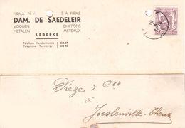 Lebbeke  DAM. DE SAEDELEIR - Lebbeke