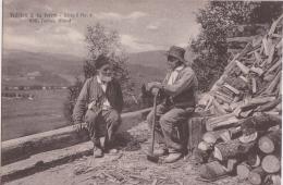 Bm - Cpa Fidèles à La Terre (bûcherons Du Canton De Vaud (édit. Lactas, Gland) - VD Vaud