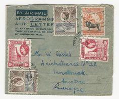 Aerogramme * Kenya, Uganda & Tanganyika * Uganda * 1955 - Kenya, Uganda & Tanganyika