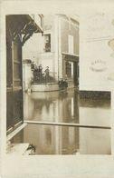 78-Villennes Sur Seine : Carte Photo 1910-Inondation De Commerces Dont Hotel Sophora - Villennes-sur-Seine