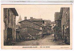 87  ORADOUR  SUR  GLANE  RUE  DES  BORDES  BE  AU646 - Oradour Sur Glane