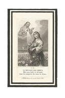 P 443. Rév. Monsieur J. VAN HEMELRYCK - °MALINES 1846 / Vicaire à VIEUX-HEVERLE Et THISSELT / +ST-TROND 1884 - Images Religieuses