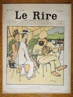 Journal Le Rire N°337 1901 - Caran D'Ache - Rouveyre - F. Fau - Villemot - Omry - Grandjouan - Guydo - Somm - Otros