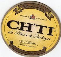 Sous Bocks - CH'TI - Le Plaisir à Partager - Beer Mats