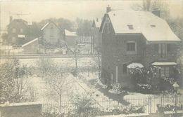78-Villennes Sur Seine : Carte Photo 1912-les Villas Sous La Neige - Villennes-sur-Seine