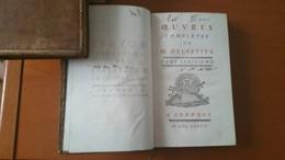 OEuvres Completes De M. Helvetius : 4 Volumi - 1701-1800