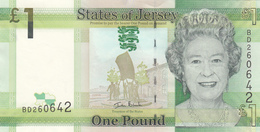 Jersey Banknote (Pick 32) One Pound D Series, Codes Available B,C,D,E & F- Superb UNC Condition - Jersey