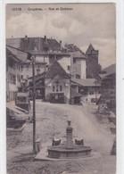 Gruyères - Rue Et Château - FR Fribourg