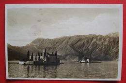 MONTENEGRO - CRNA GORA, OTOCI KOD PERASTA - USED 1930 - Montenegro