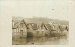 78-Villennes Sur Seine : Carte Photo 1910 Maisons Inondées - Villennes-sur-Seine